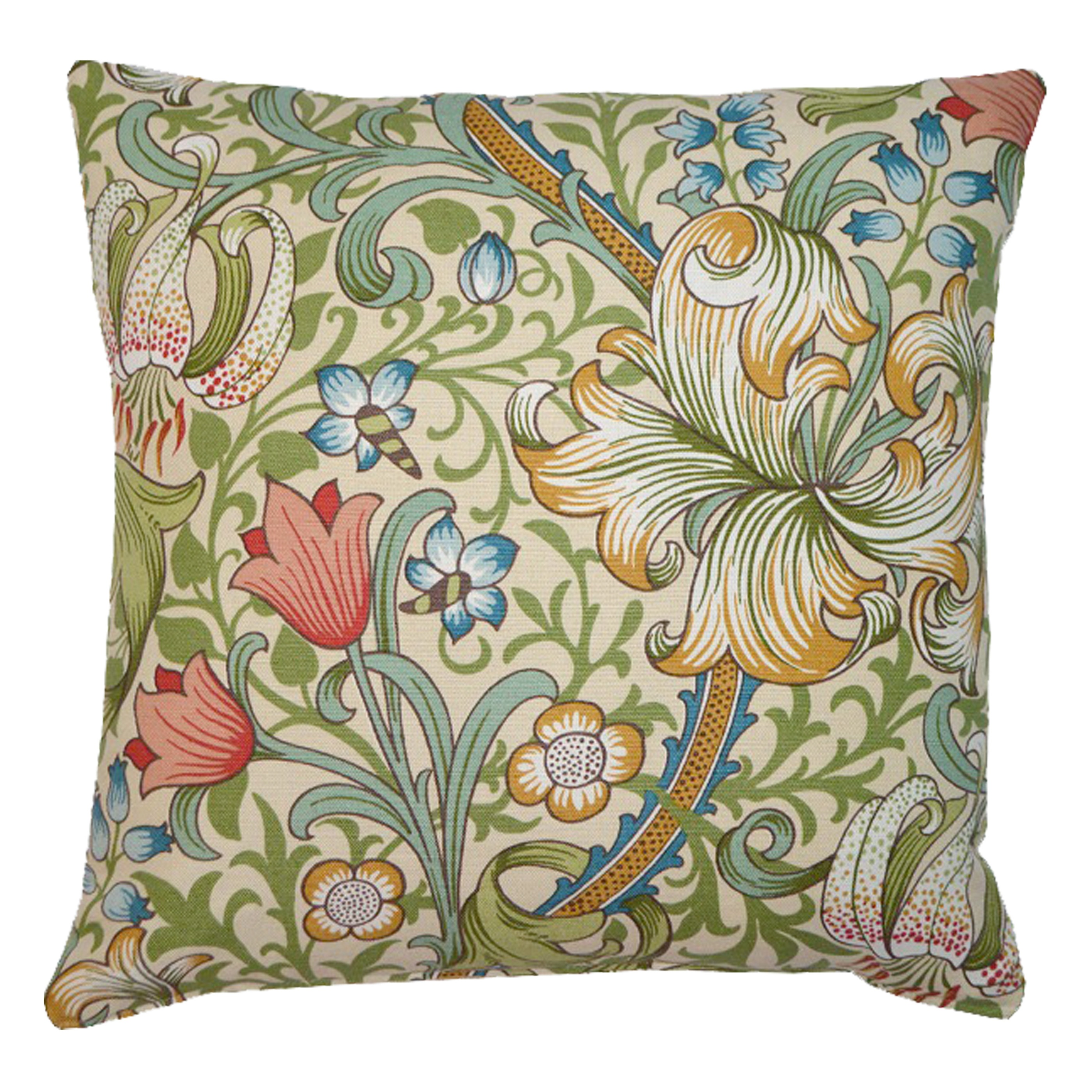 Kudde William Morris Golden Lily Creme
