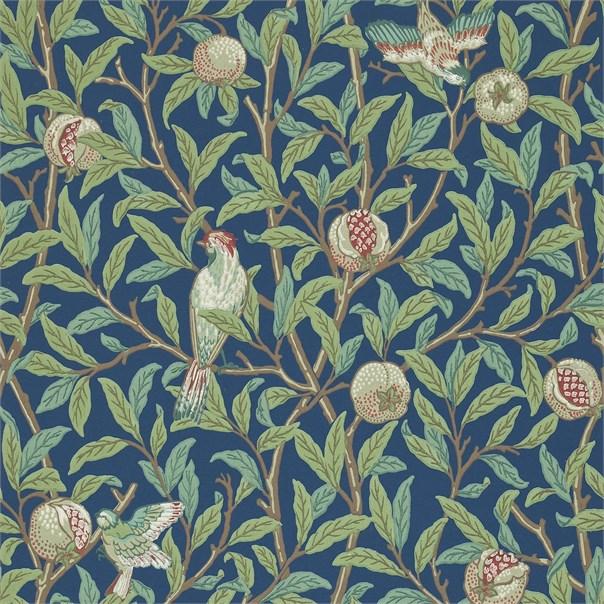 Tapet William Morris Bird & Pomegranate 212540