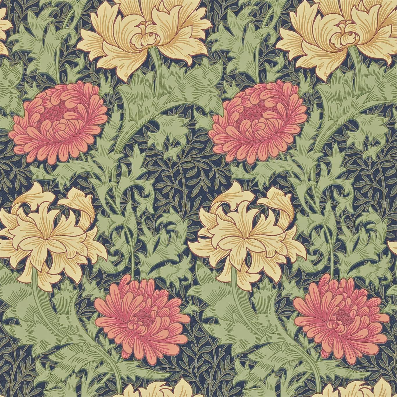 Tapet William Morris Chrysanthmum 216854
