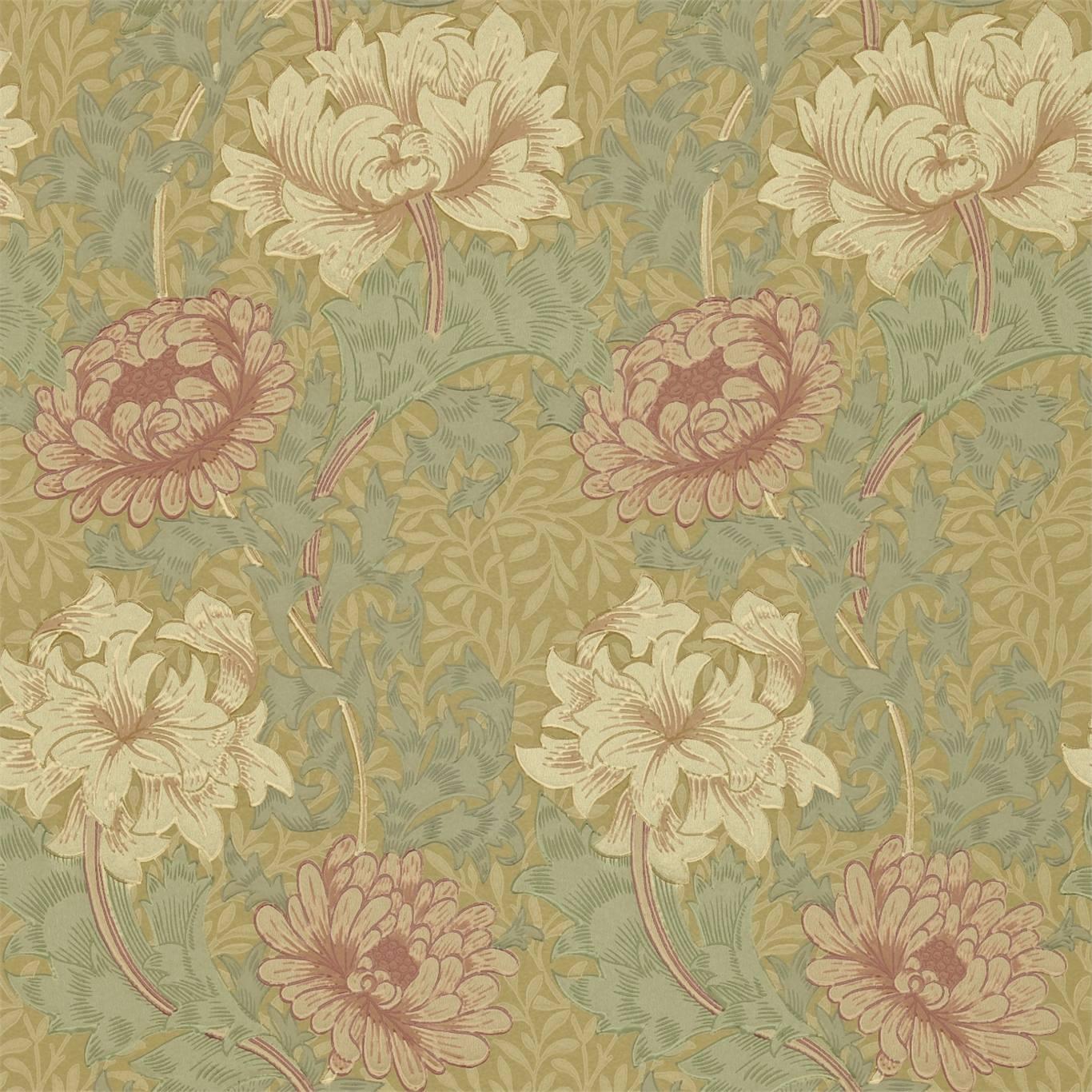 Tapet William Morris Chrysanthmum 216860