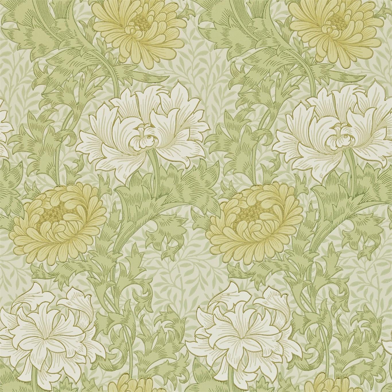 Tapet William Morris Chrysanthmum 216845