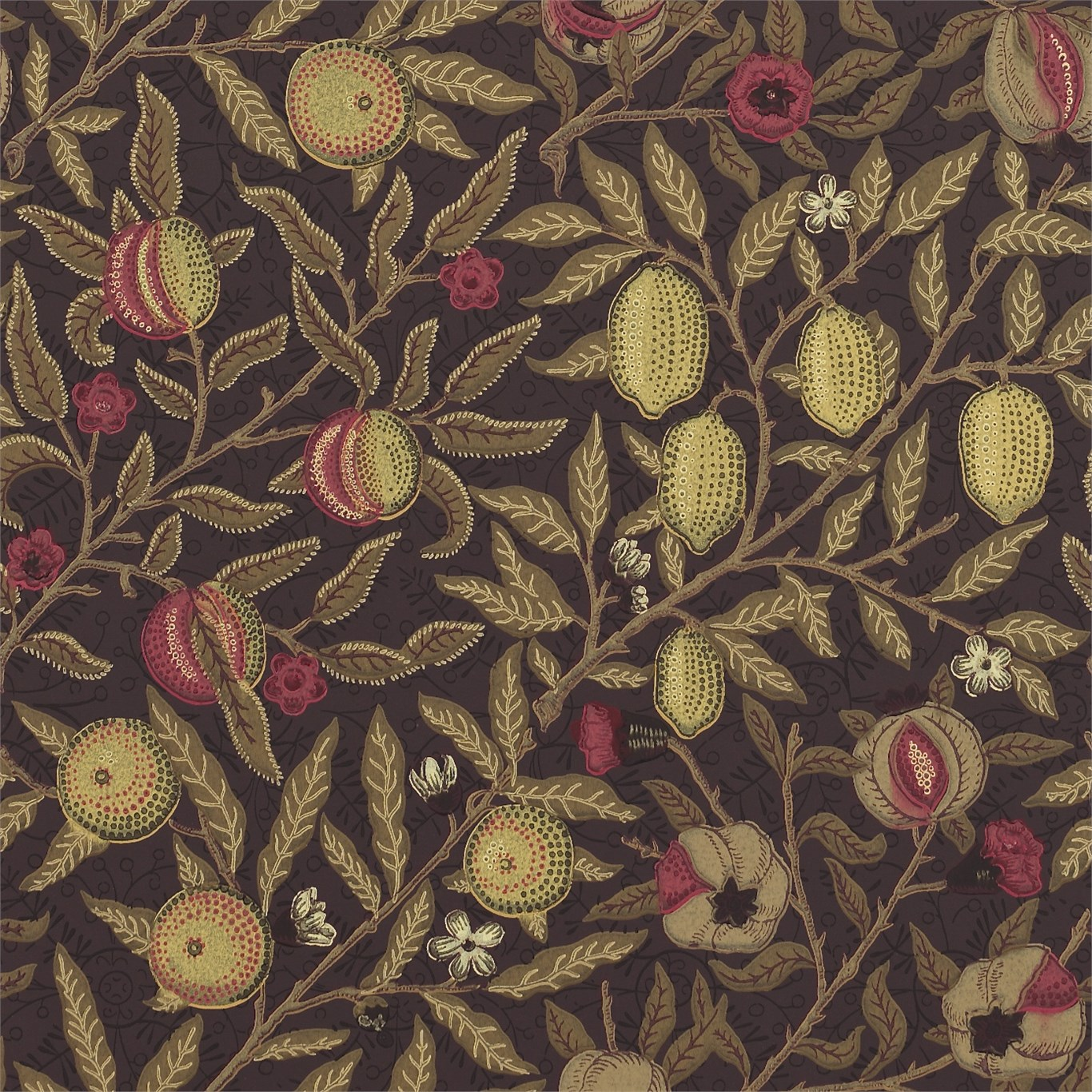 Tapet William Morris Fruit 210397