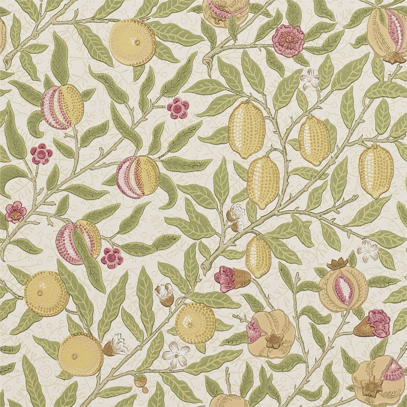 Tapet William Morris Fruit 210395