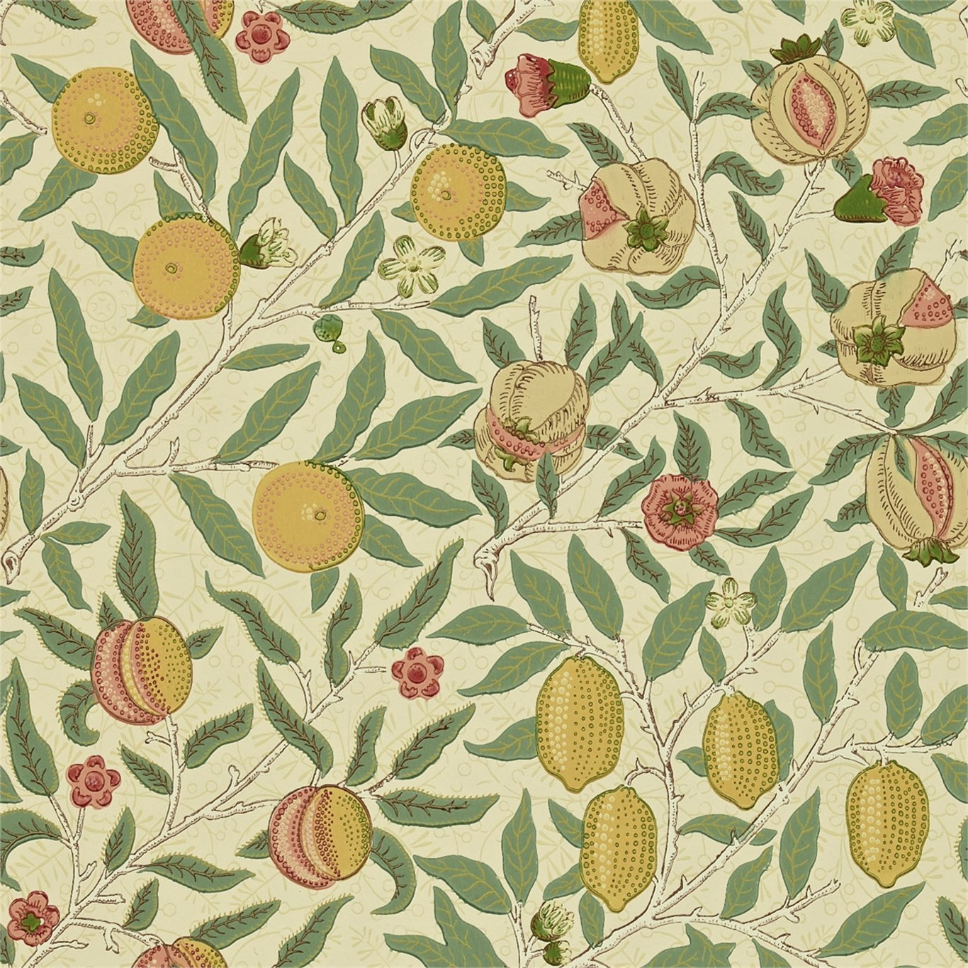 Tapet William Morris Fruit WR8048-1