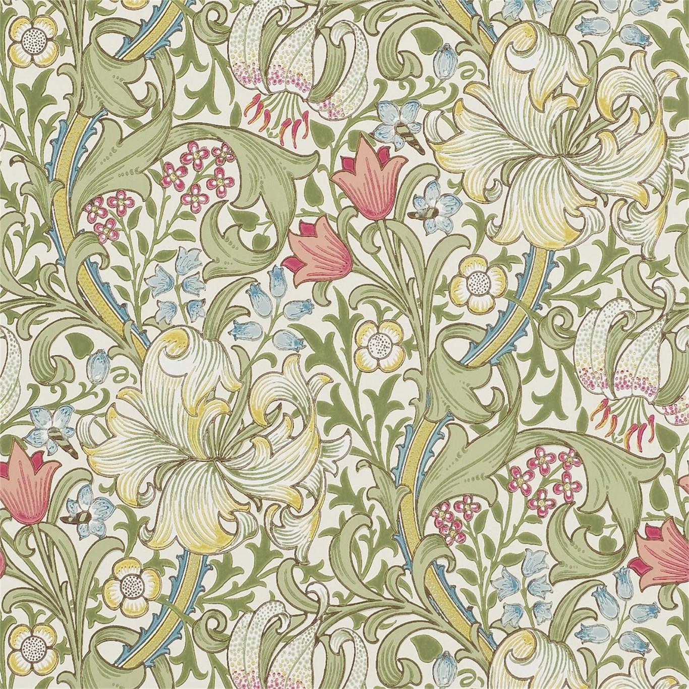 Tapet William Morris Golden Lily 216460