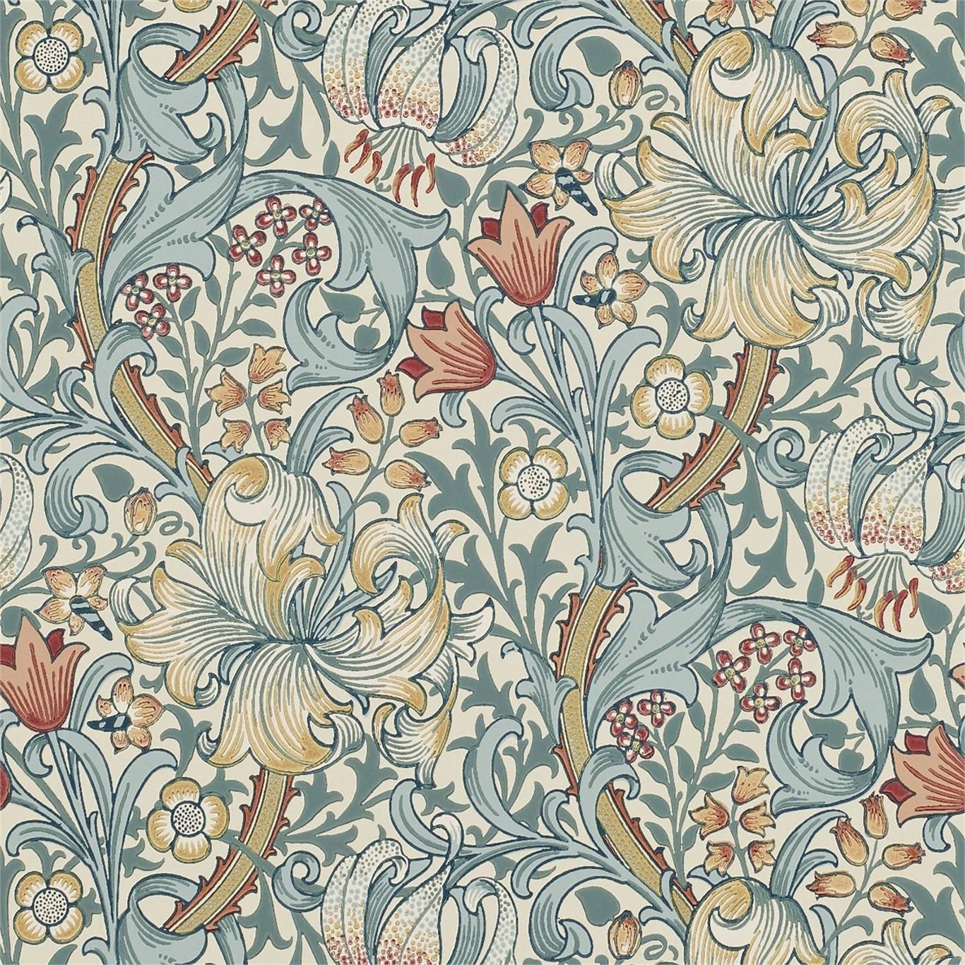 Tapet William Morris Golden Lily 216461