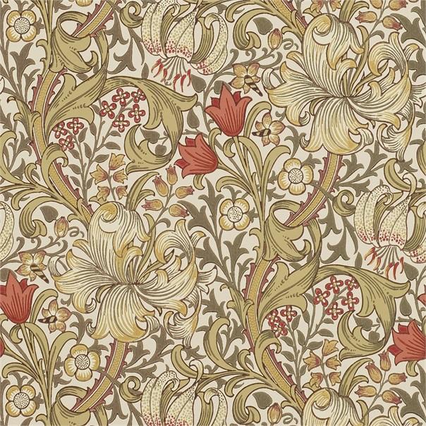 Tapet William Morris Golden Lily 216462