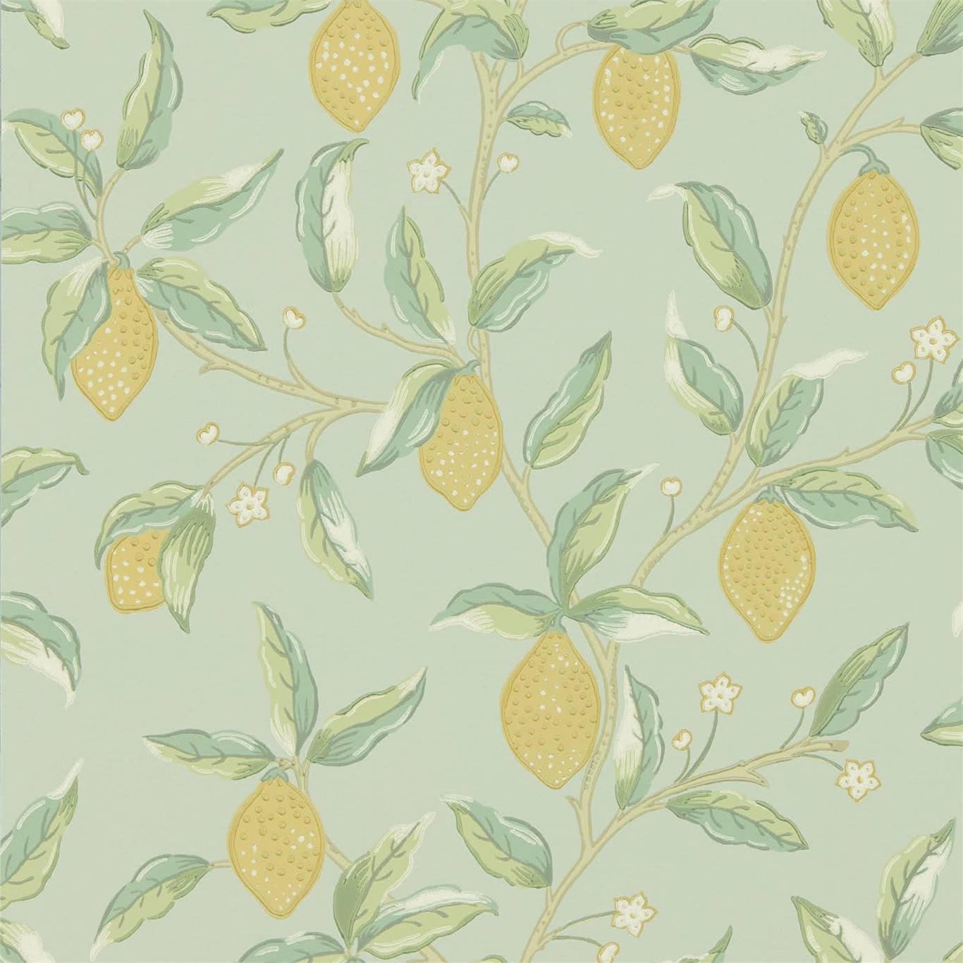 Tapet William Morris Lemon Tree 216673
