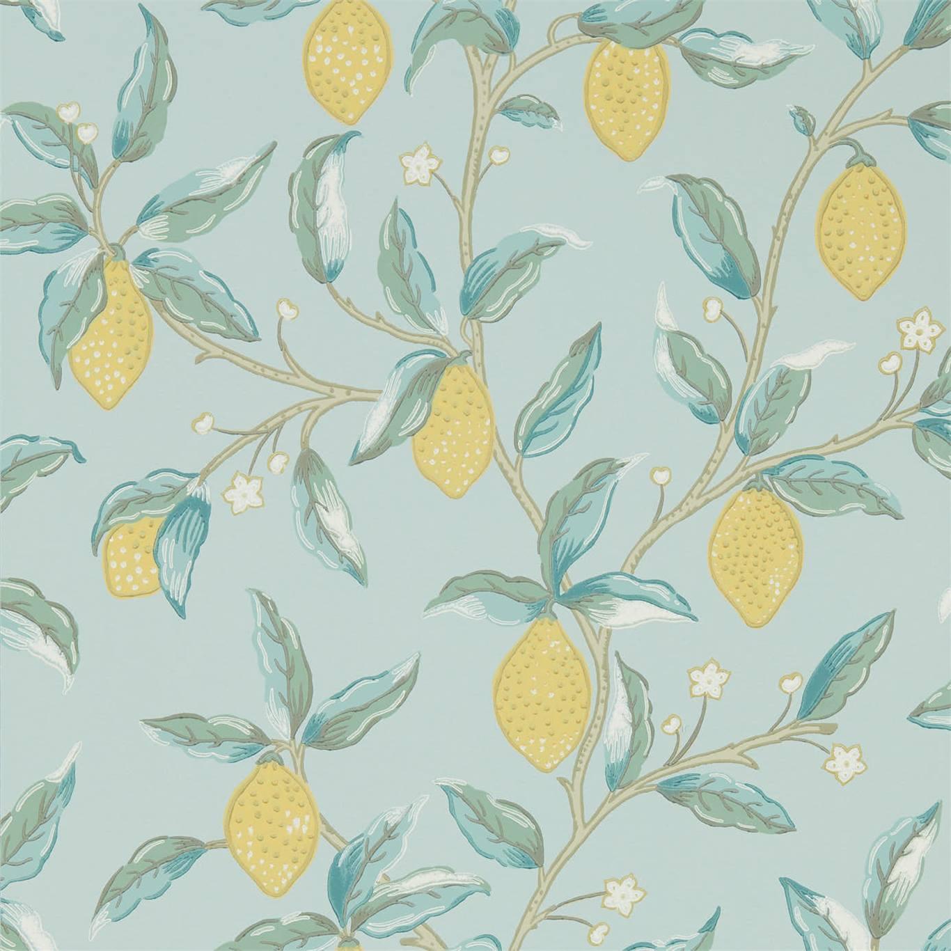 Tapet William Morris Lemon Tree 216674