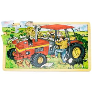 Pussel 24 bitar - traktor - Pussel 24 bitar - traktor