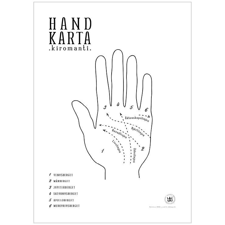 Handkarta / Kiromanti