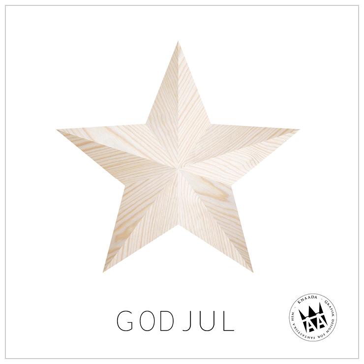Julkort Stjärna
