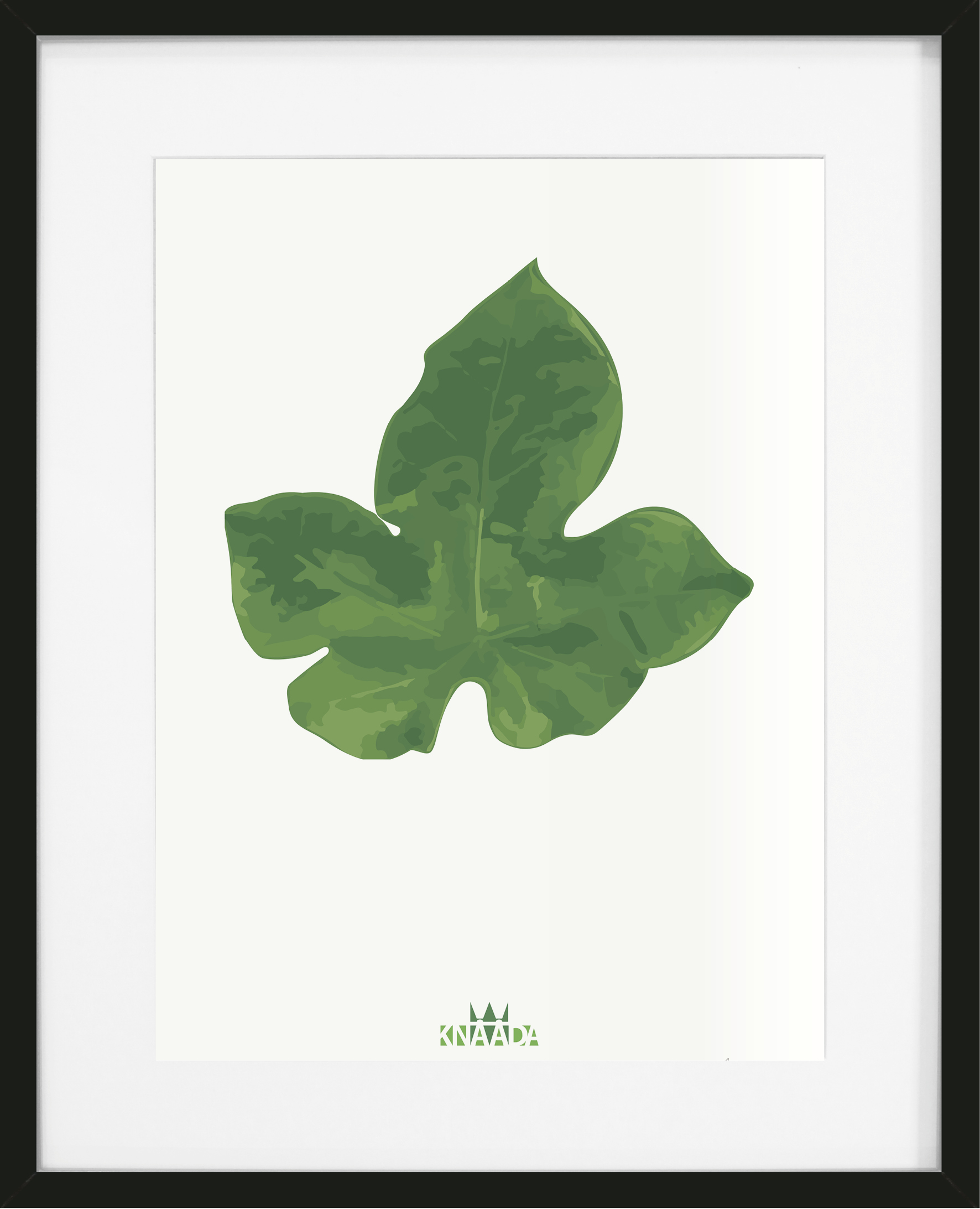 Poster Grönt blad