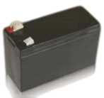 Backupbatteri, för manövrering av porten vid strömavbrott