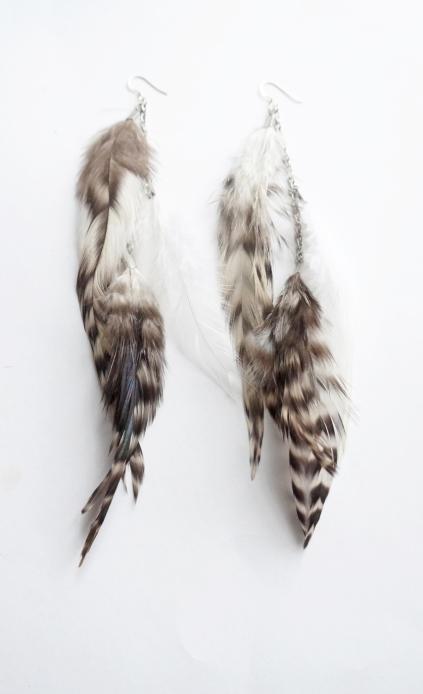 Fjäderörhängen