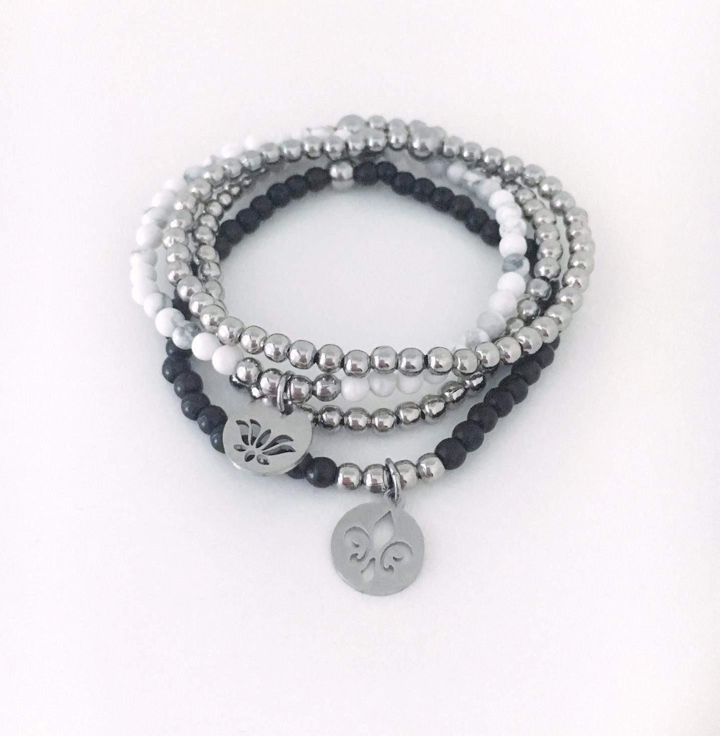 Armband i RFS_fransk lilja_lotusblomma_1