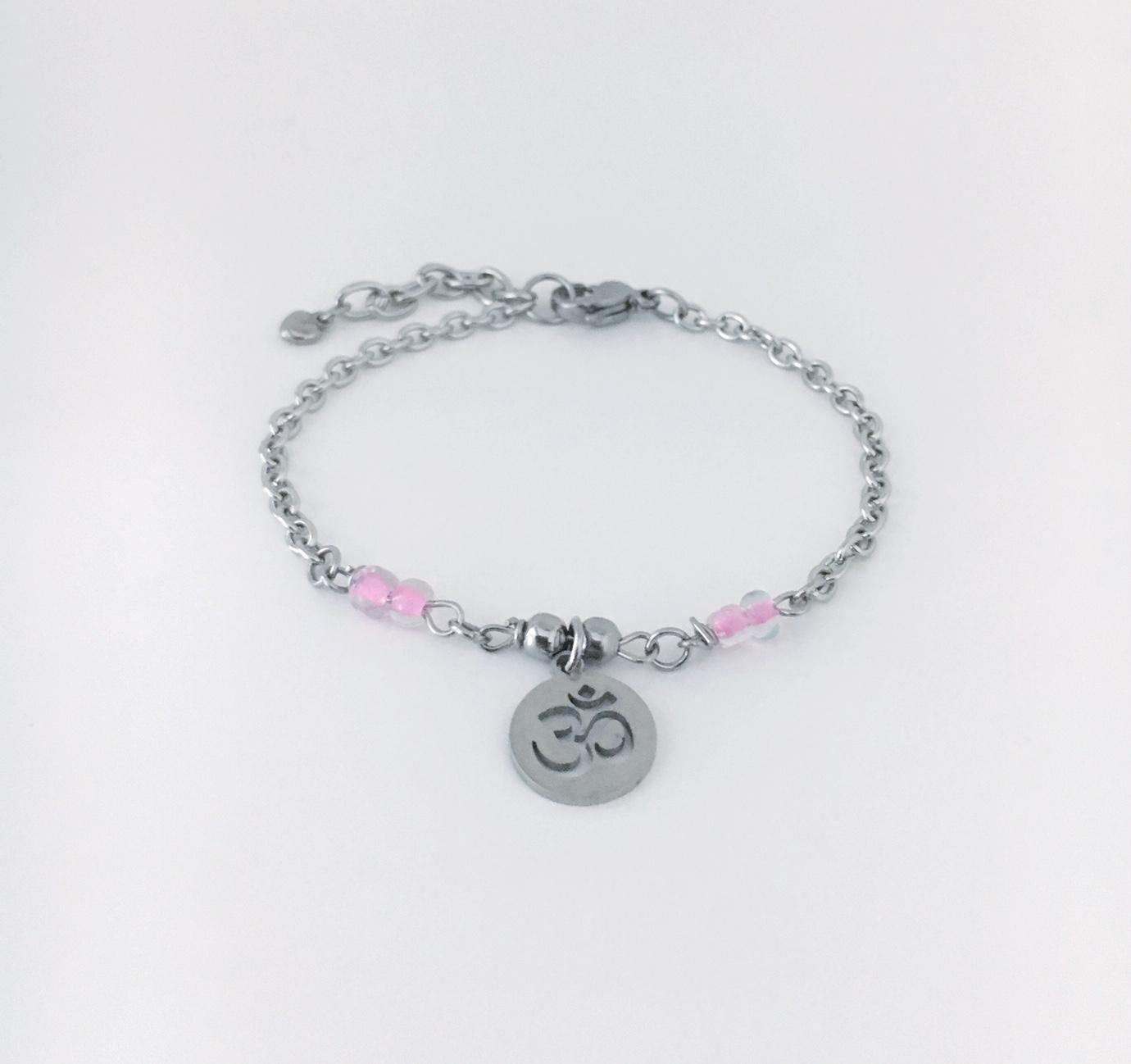 Länkade pärlor med berlock_2