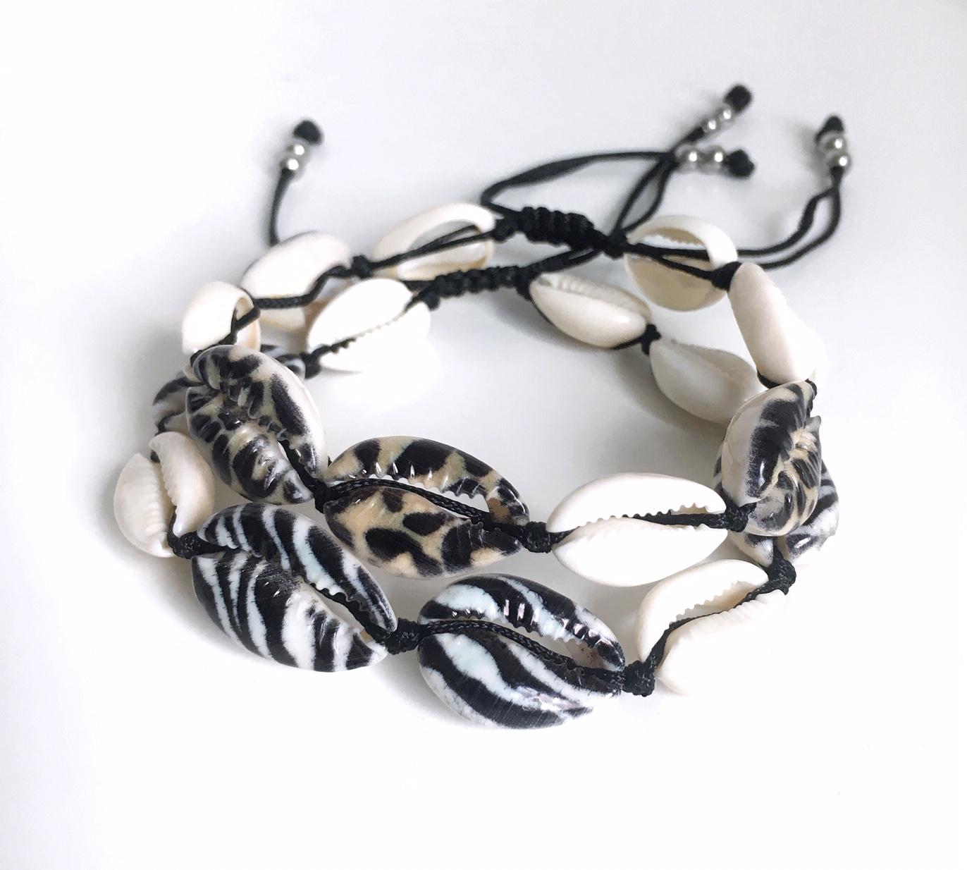 Snäckarmband med färg_4_MIX_leo_zebra_2
