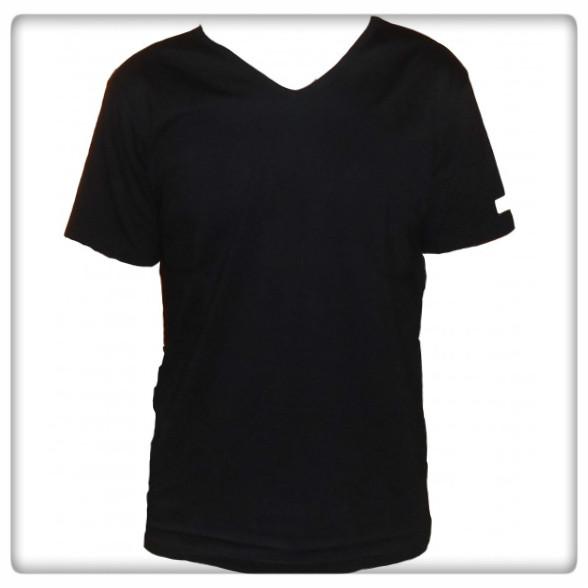 v-ringad t-shirt ekobomull