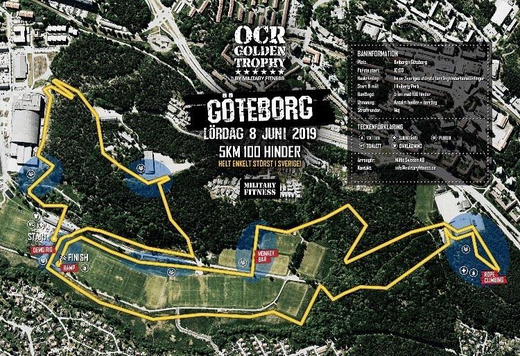 Banskiss OCR Golden Trophy Göteborg 2019