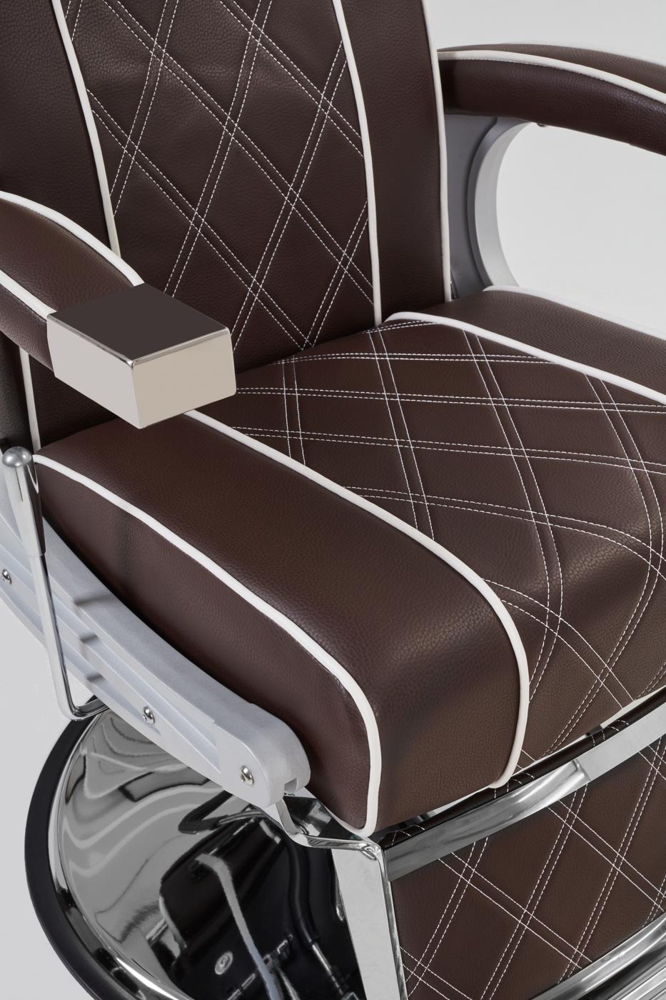 Baber Chair Borg brun
