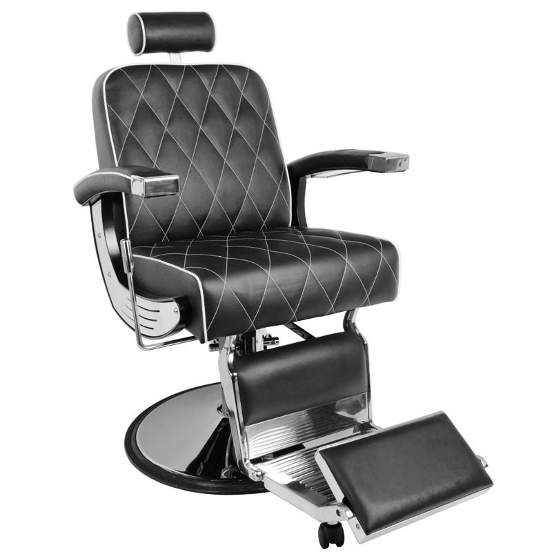 Barberastol BRAD i svart