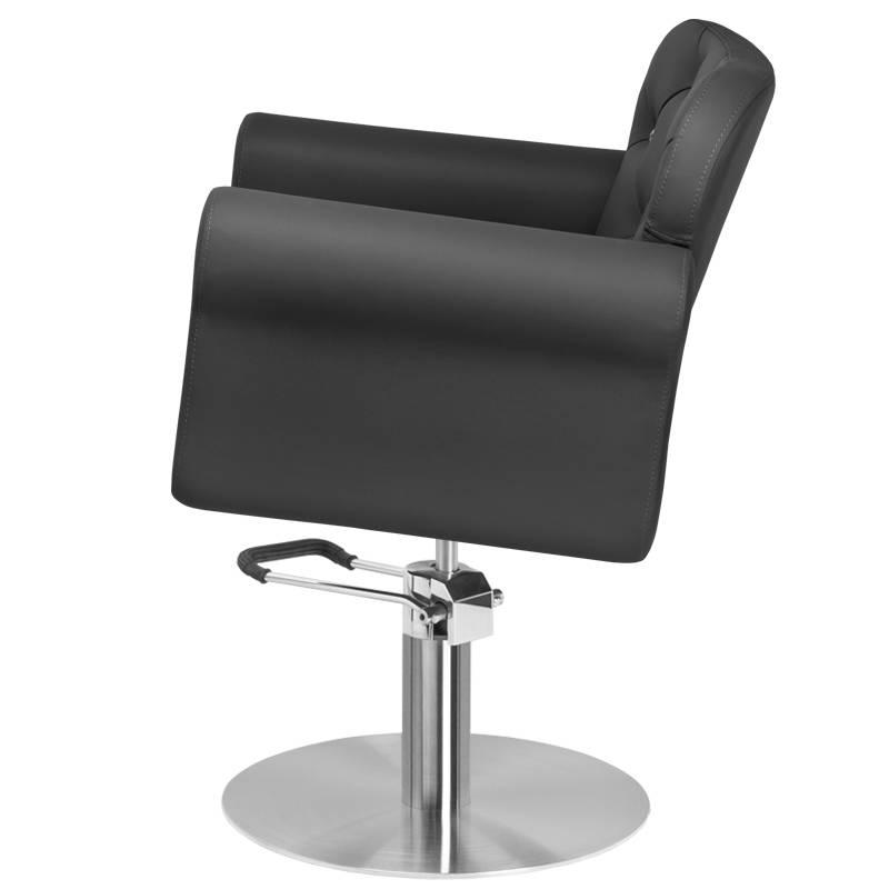 Frisörstol svart