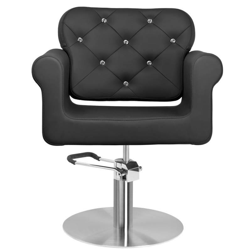Frisörstol Brilliant svart