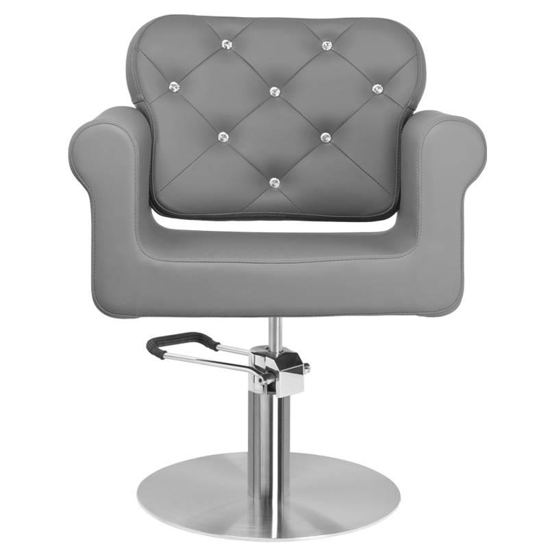 Frisörstol Brilliant grå