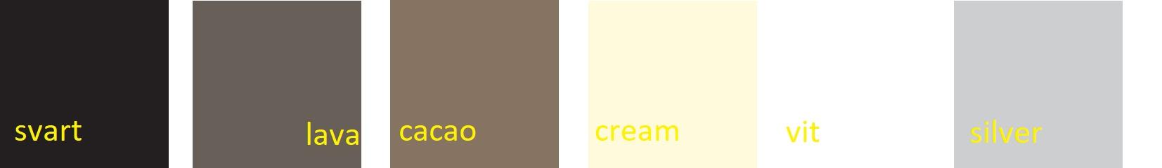 Färgkarta Mdf träfärg