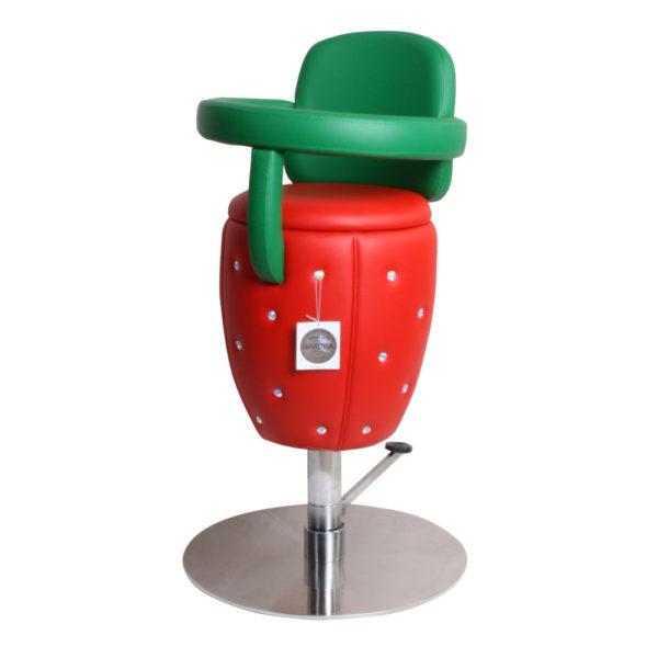 Barnfrisörstol Lyx Design Fruit med Svarowski
