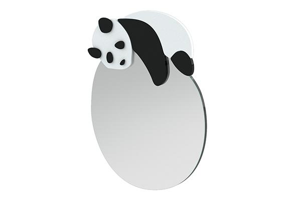 Arbetsplats Barnspegel Panda