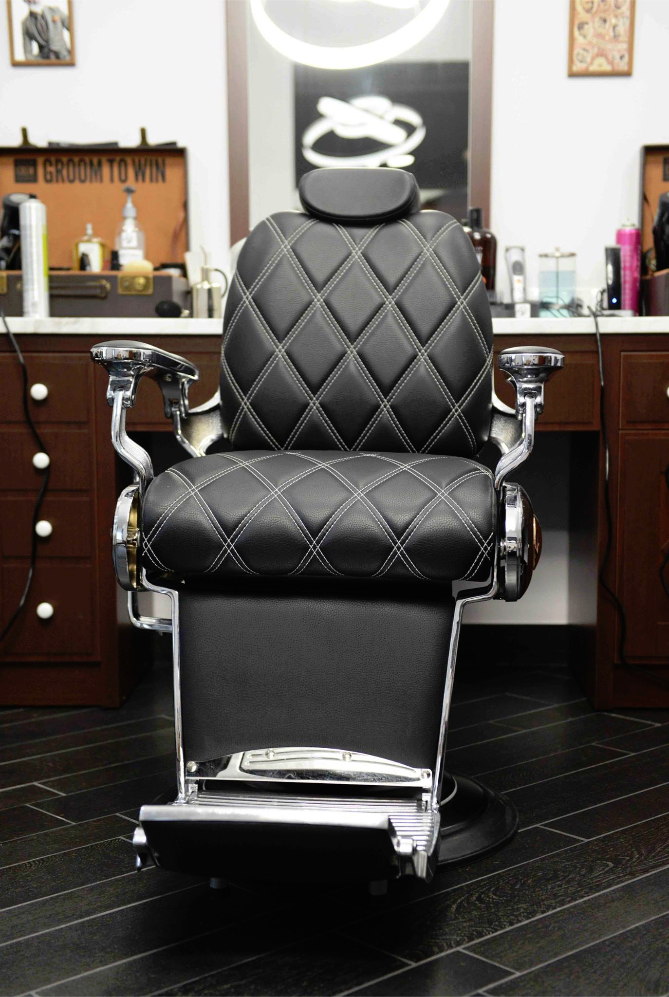 Barber Chair Tiger