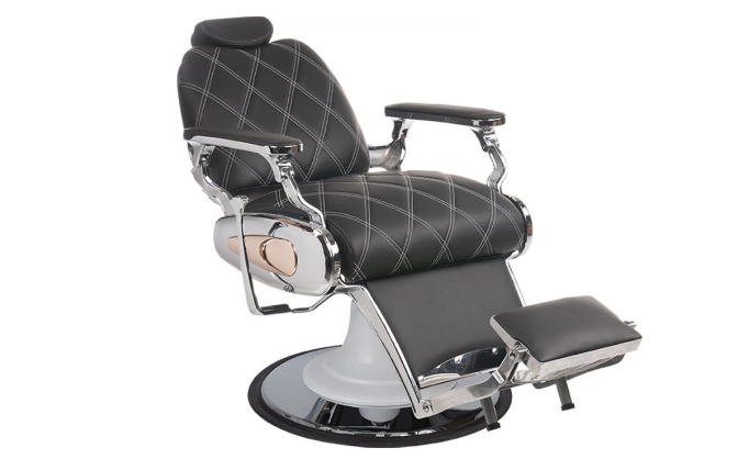 Barber Chair Tiger quilted