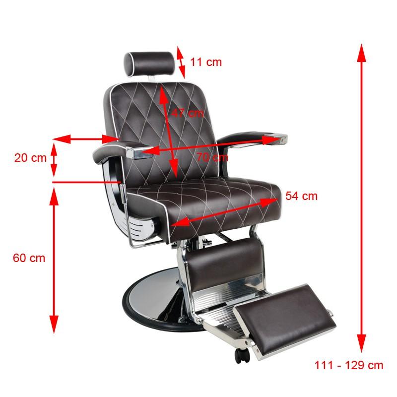 Barber Chair storlek