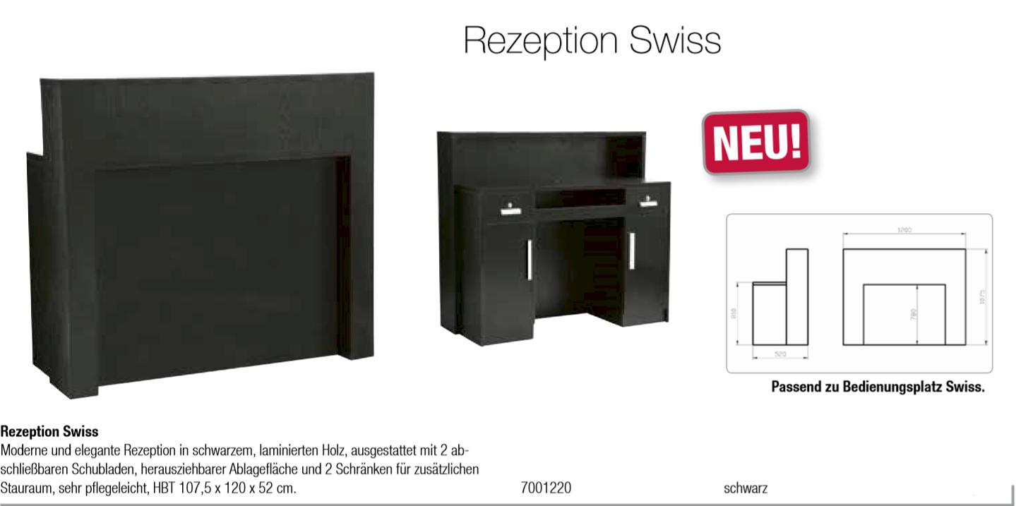 Comair receptionsdisken Swiss