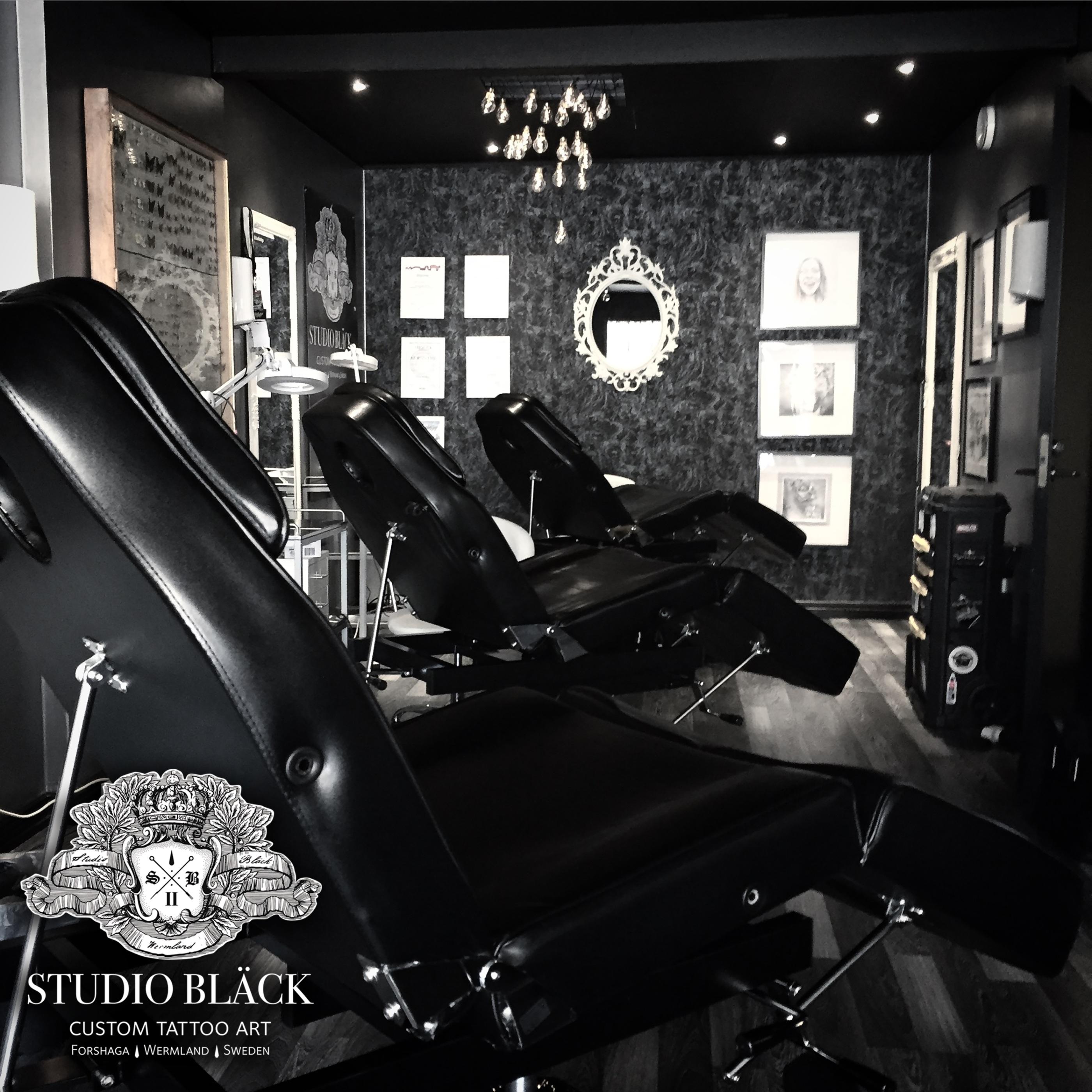 Studio Black Tattoo Forshaga Tatuering