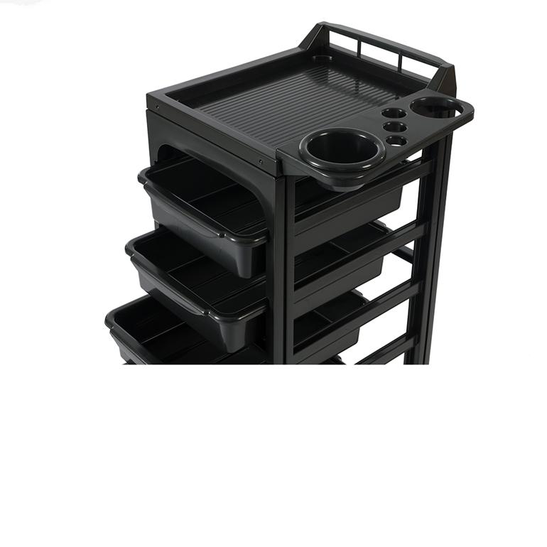 Frisörvagn Arbetsvagn - SOAPY svart