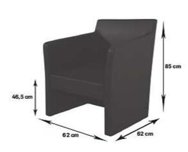 size Quadro stol