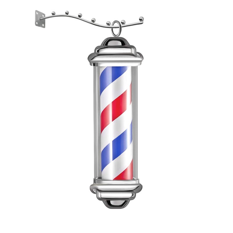 Barber Pole small Rotating&Light