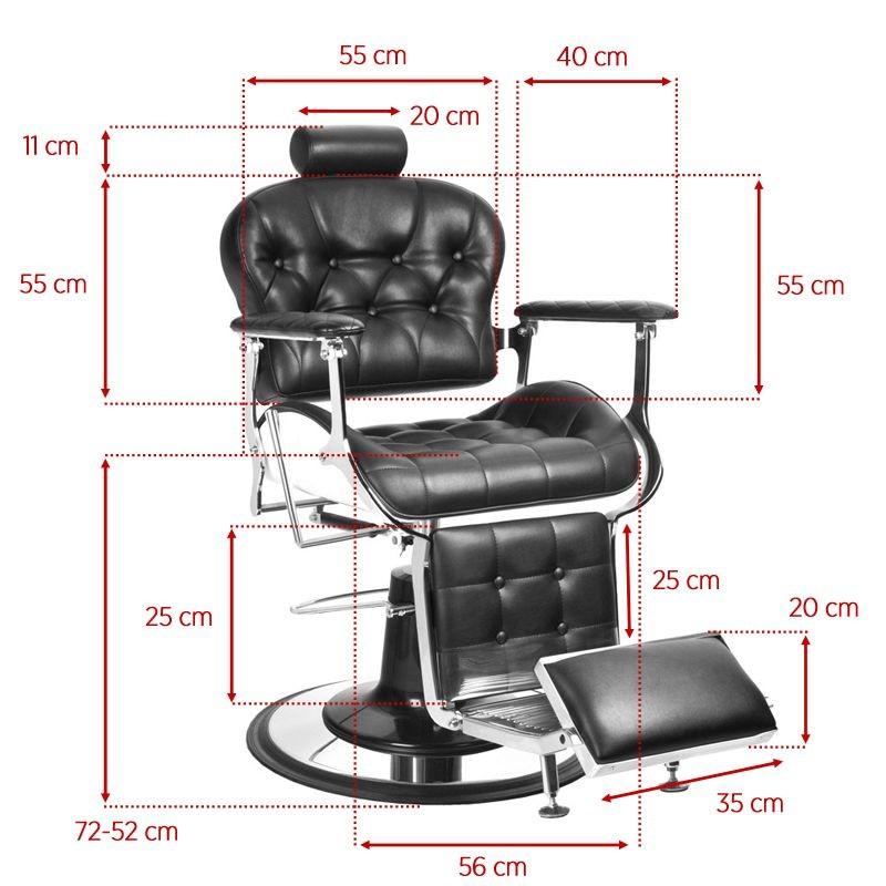 Barber Chair Prime Svart
