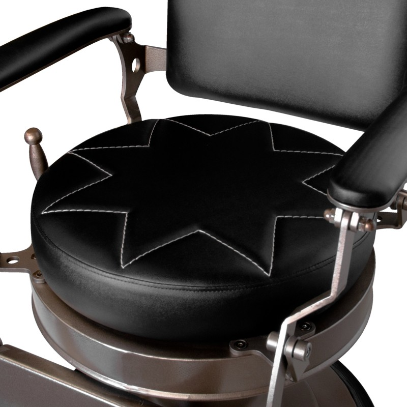Barber Chair Black STAR