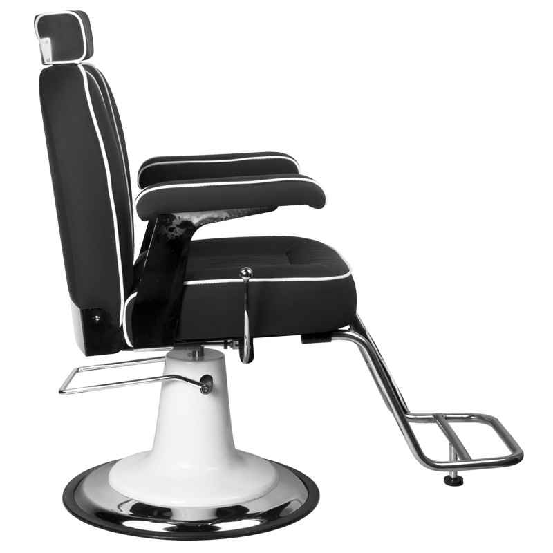 Barber Chair Frisörstuhl unisex TOMMY Make Up Stol i svart