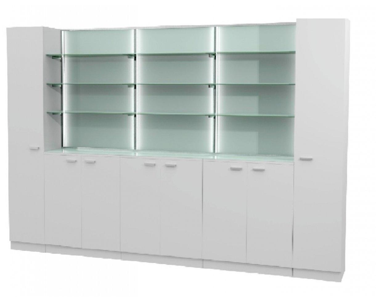 Frisör Kosmetik Labor Inredning Combi 05 Made in Europe