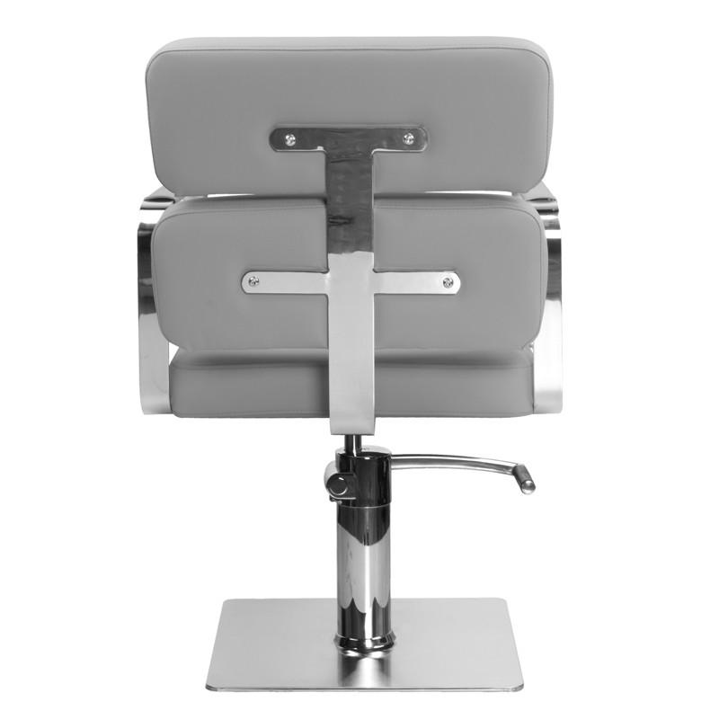 Frisörstol Kundstol i grå Make Up Stol