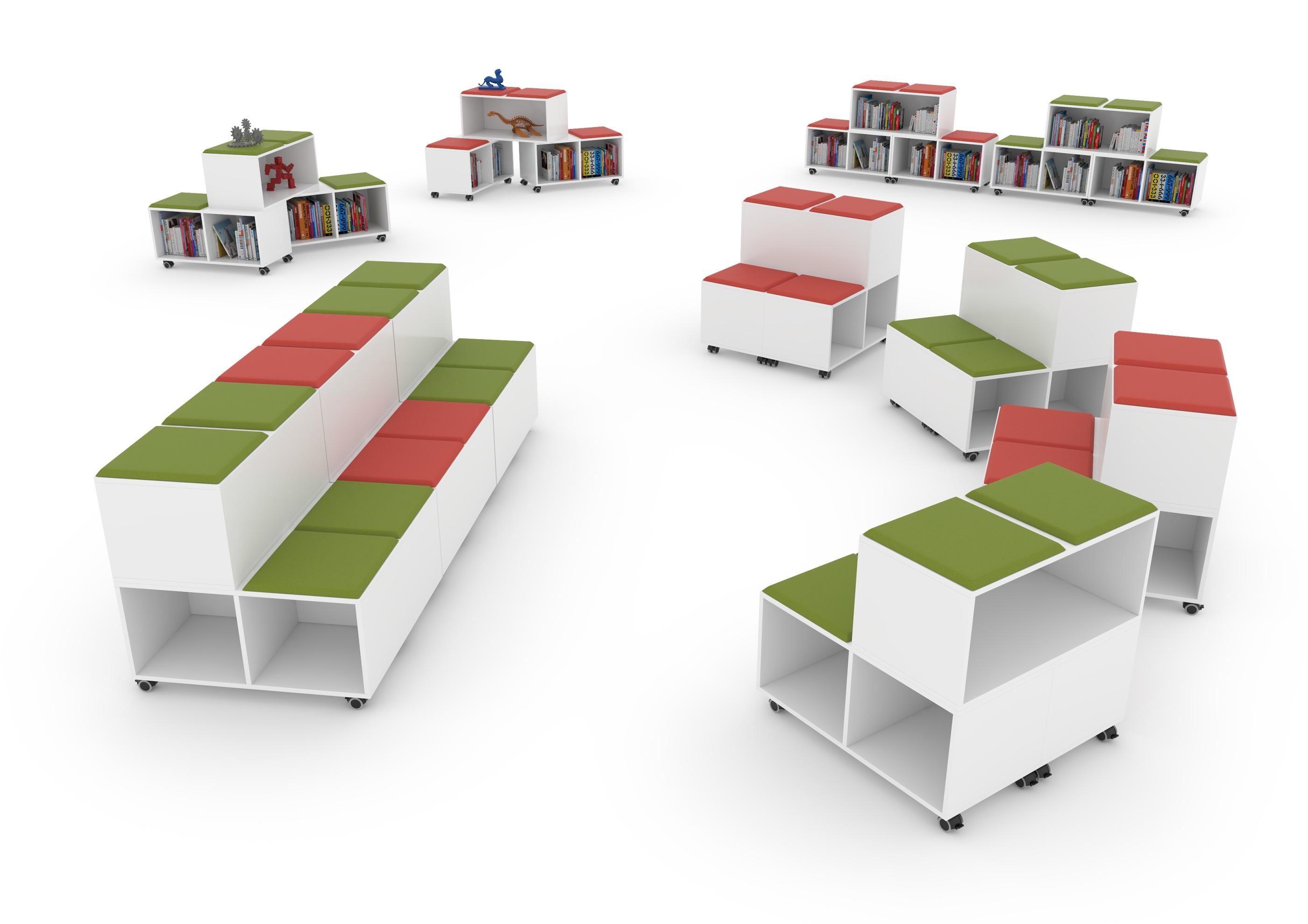 MOVE Mobilt och modulärt säte med förvaring