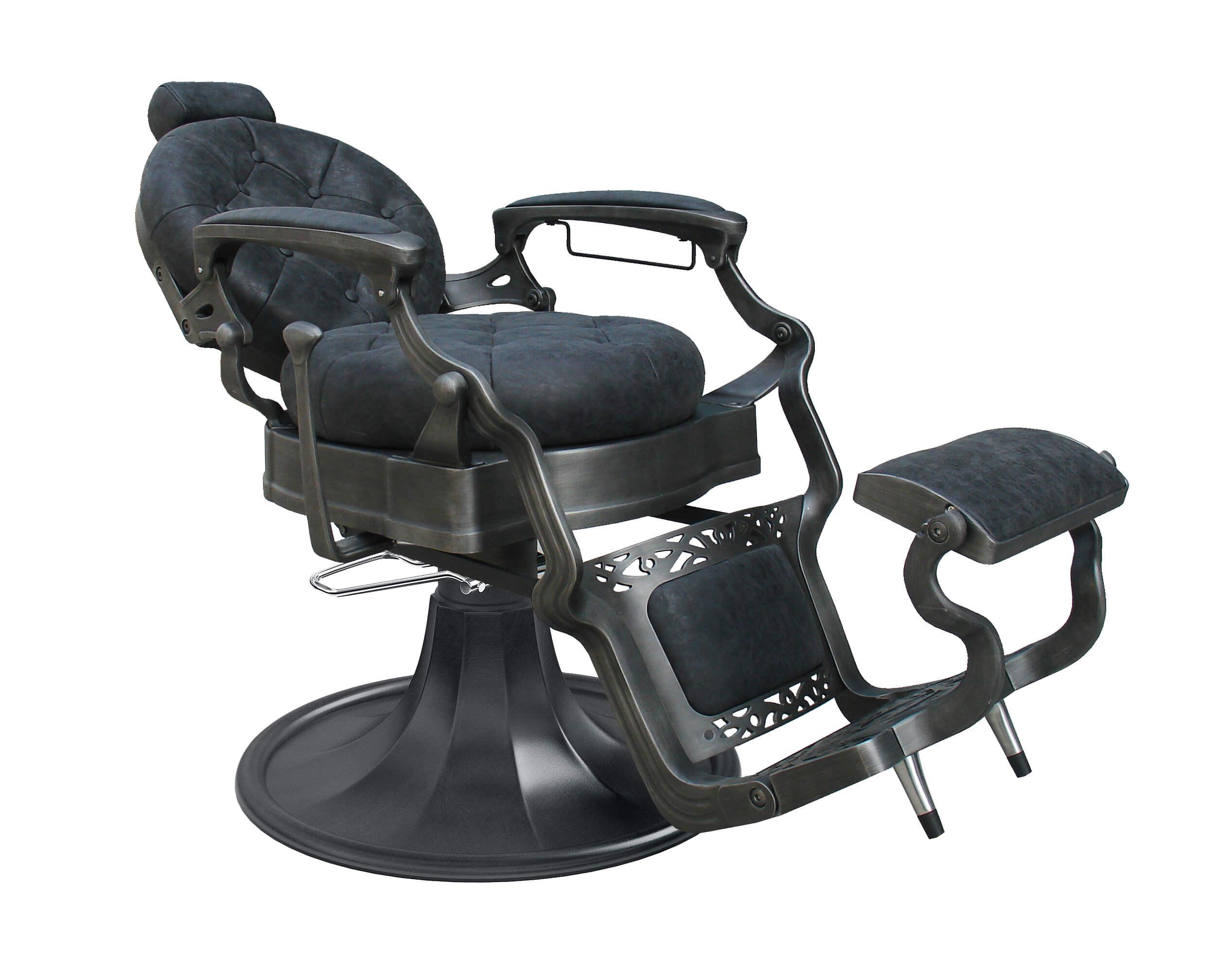 Barber Chair Wayne Retro svart
