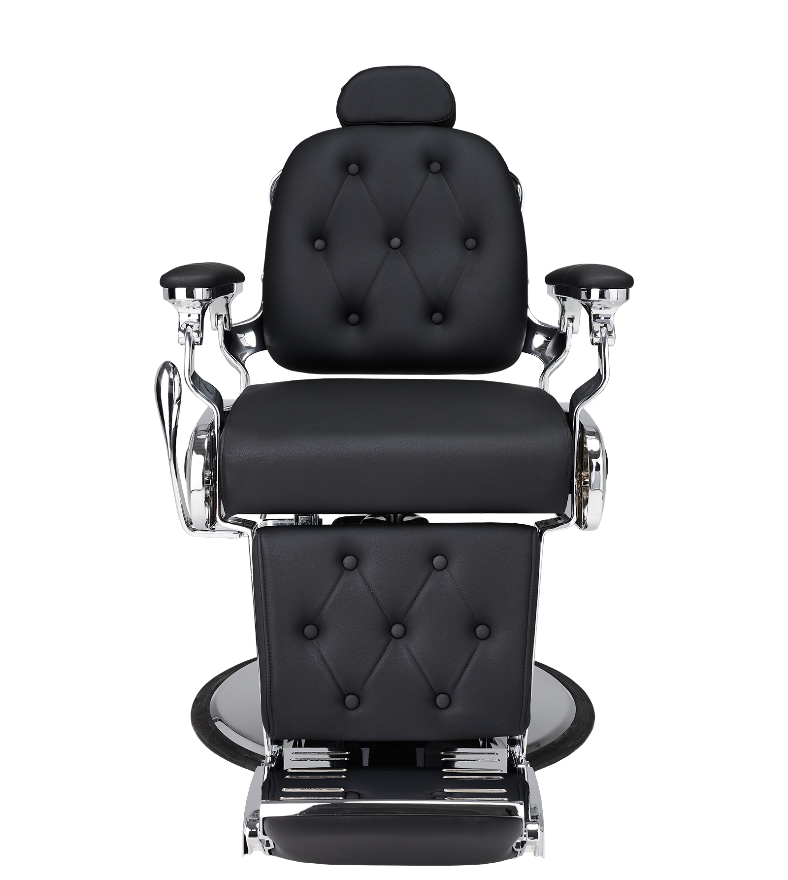 Barber Chair Lion i svart