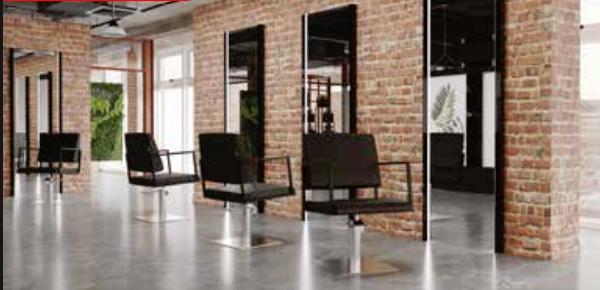 Arbetsplats Spegel DEPO med LED Made in Europe