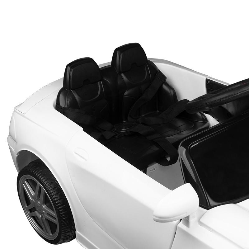 Barnklippstol Roadster vit